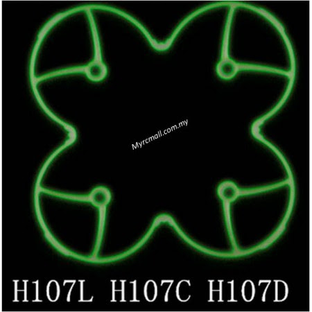 Hubsan X4 H107l H107c H107d Spare Part 02 Glow In The Dark