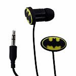 Bioworld DC Batman In-Ear Headphones - Black / Yellow - Unlimited Cellular