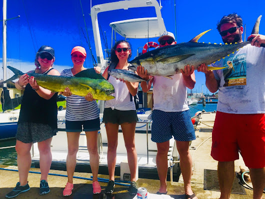 October Fishing continues to be Hot! - Captain Trips Sportfishing Charters in Kauai