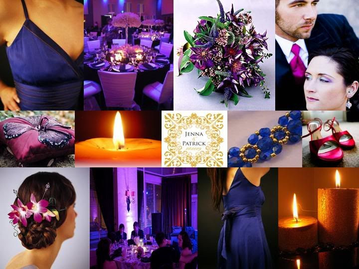 Inspiration Blue And Purple Wedding Decoration Ideas Wedding