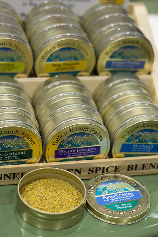 Fennel Pollen from Pollen Ranch at the Fancy Food Show