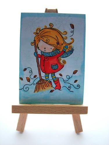 mail art 365-019 by Miss Thundercat