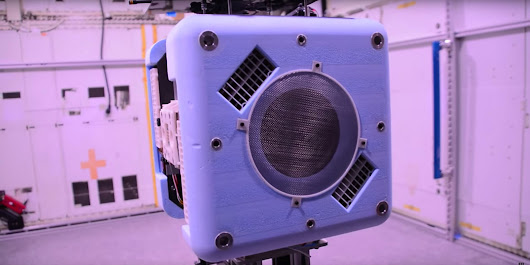 Meet Astrobee, the Adorable Robot Cube Bound for the ISS