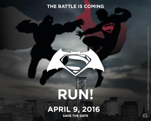 Batman Vs. Superman Run 2016 @ MOA – April 9, 2016