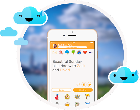 Swarm is the app that turns every day into a game.