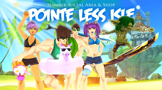 Summer Shop & Pointe Less Isle!