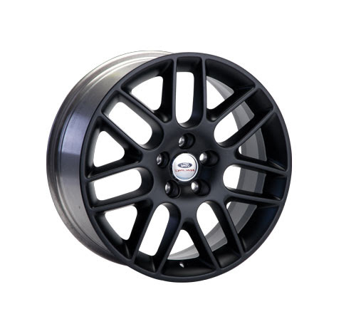 "Ford Racing 18x8"" Mustang Matte Black Wheel (05-14 GT/V6)"