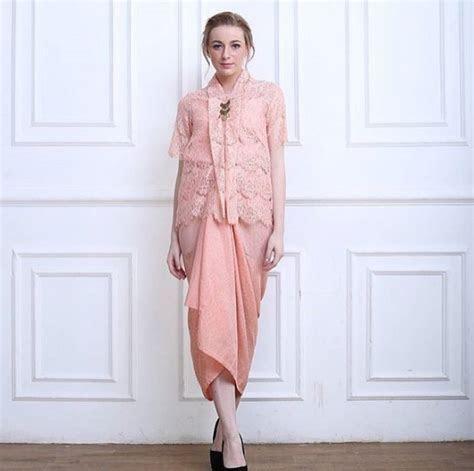 contoh model kebaya modern terupdate  fashion