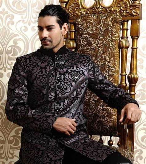 Sherwani Designs: Traditional Men's Sherwani Designs