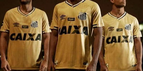 Santos lança nova camisa ... 36bf467c2c8c9