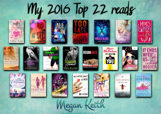 2016: A year of fantastic books! | Megan Keith, author