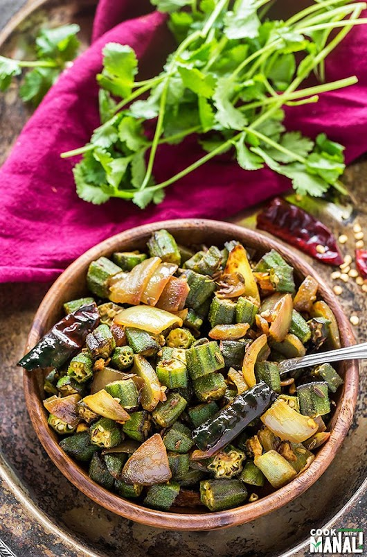 Bhindi Do Pyaza - Cook With Manali
