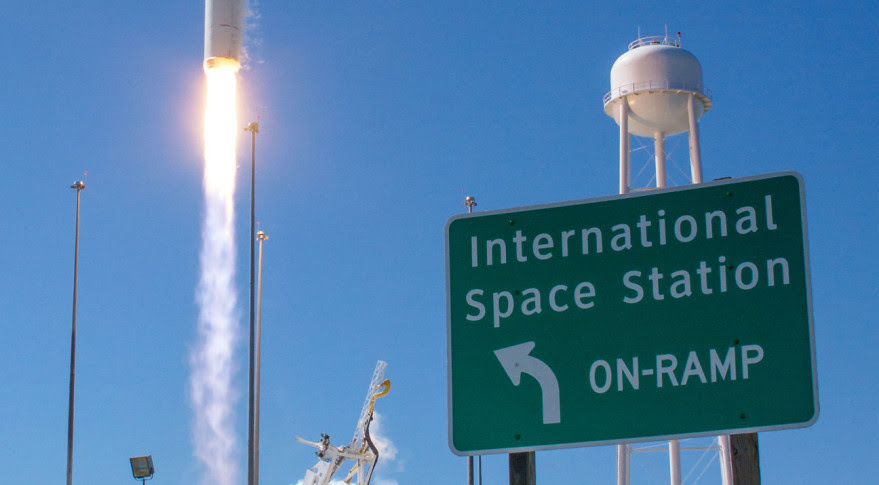 Although Orbital ATK expects its re-engineed Antares to be ready by March, it could be some months after that before Wallops Island resumes its role as an International Space Station on-ramp. Credit: NASA