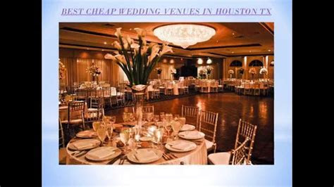 BEST CHEAP WEDDING VENUES IN HOUSTON TX   YouTube
