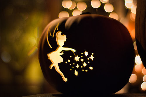 carving, christmas, fairy, halloween, peter pan, pumpkin