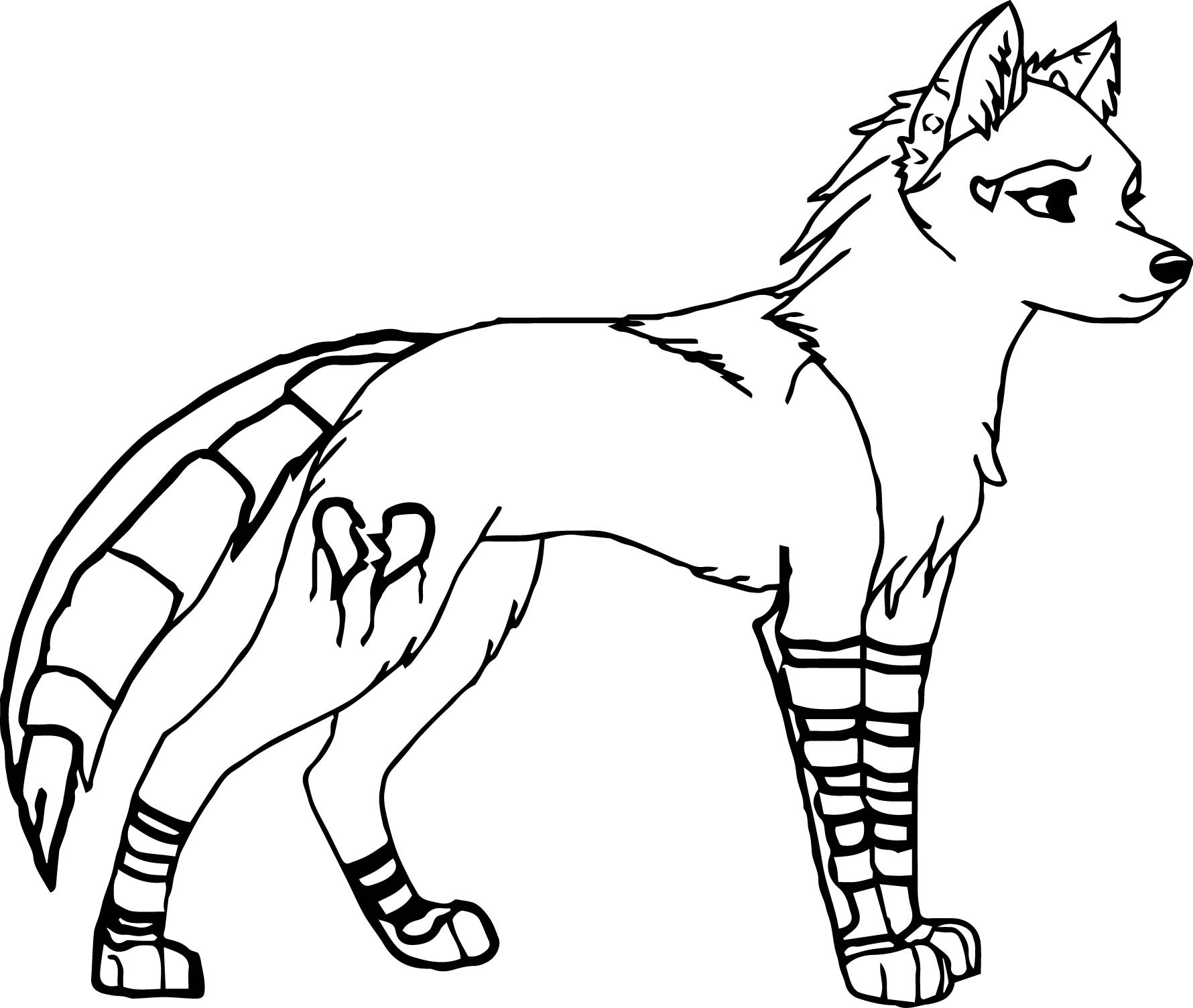 Female Wolf Coloring Pages | Wecoloringpage.com