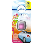 Febreze Car Air Freshener, Island Fresh, Vent Clip - 2 ml