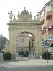 Arco entrada Segovia