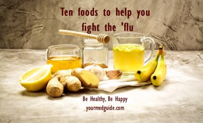 10 foods to help you fight flu