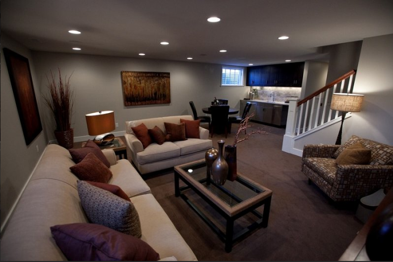 Basement Interiors Ideas and Themes