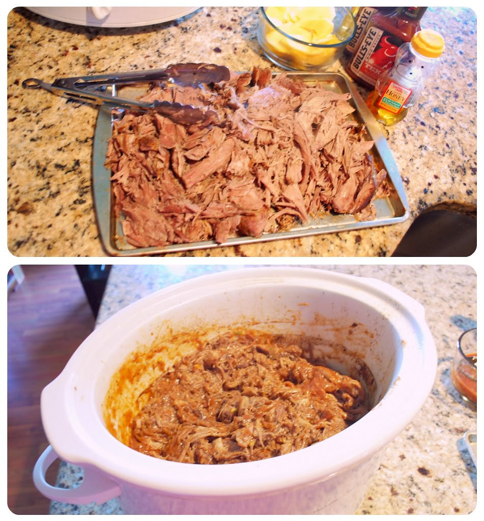 Bourbon Mango Pulled Pork