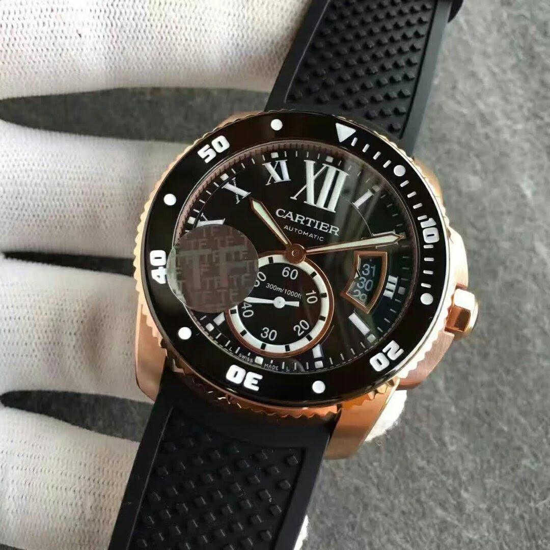 TF Calibre de Cartier W7100052