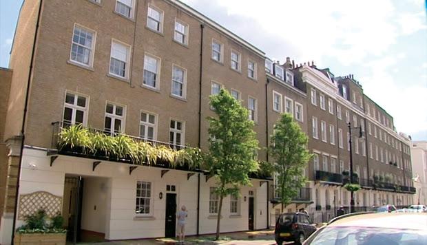 Akezhan Kazhegeldin's mansion in Belgravia, London