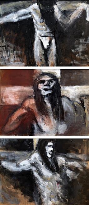Crucifixión-tríptico