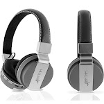 Aduro Pop Soul Wireless Bluetooth Foldable Headphones - Gray