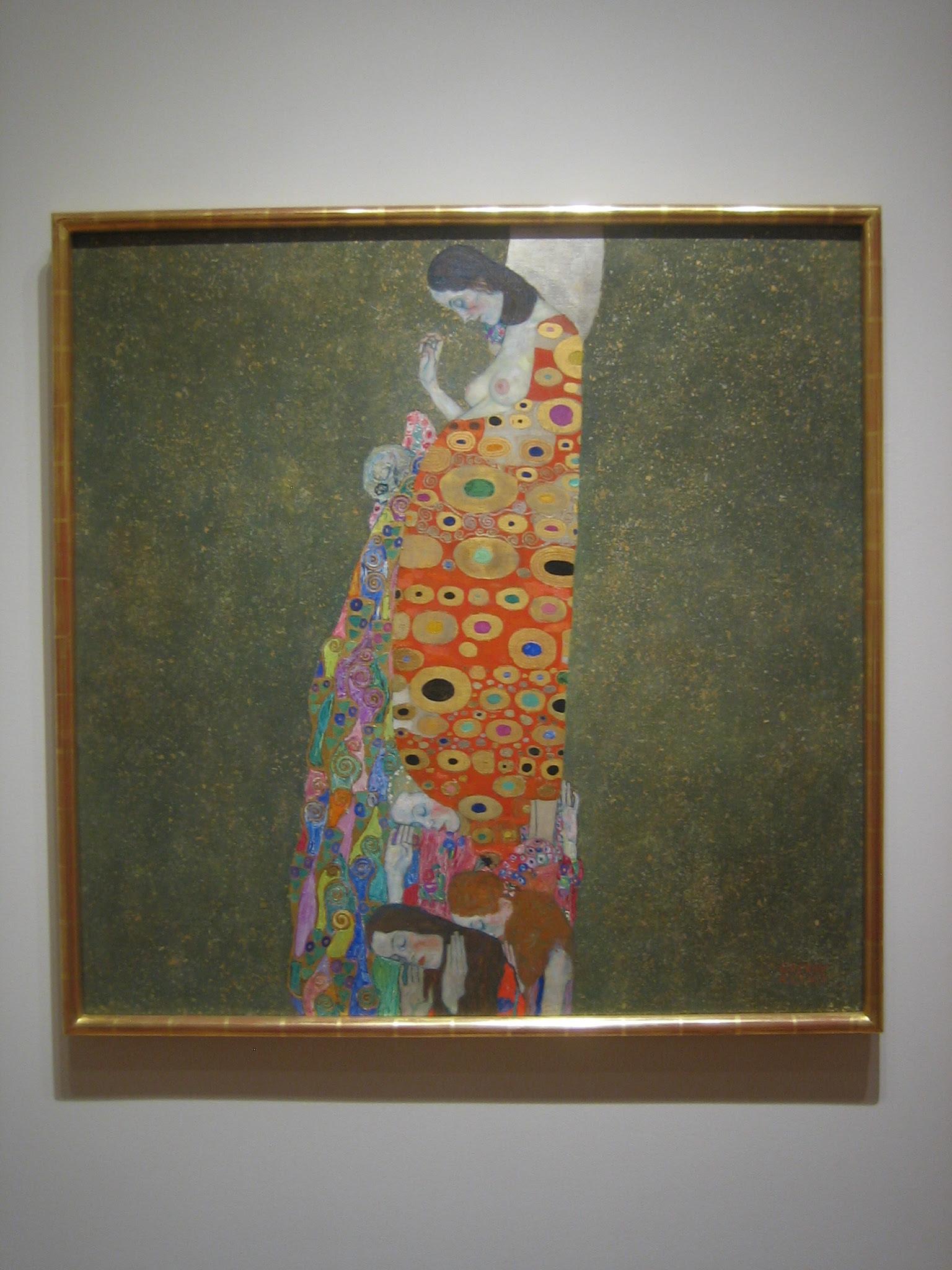 Hope, II, 1907-08, Gustav Klimt _7434