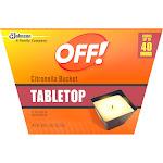 Off! Citronella Candle Solid 18 oz.