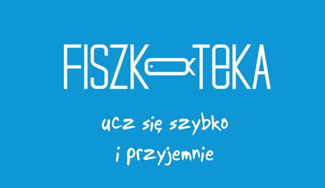 Recenzje #5 - Fiszkoteka.pl - logo firmy - Francuski przy kawie