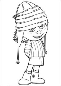 Dibujos Para Colorear De Minions Morados Imgenes De Minions