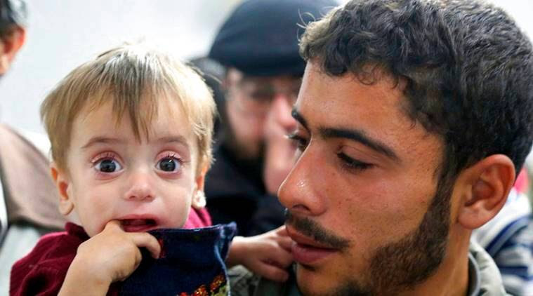Medical evacuations begin from Syria's Eastern Ghouta: ICRC