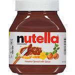 Ferrero Nutella Chocolate Hazelnut Spread with Cocoa - 26.5 oz jar