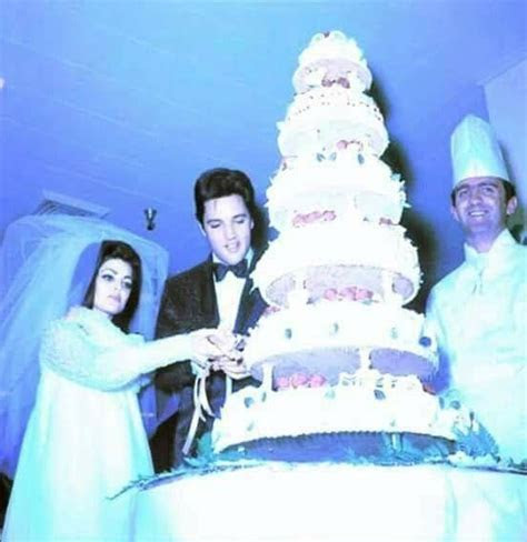 Pin by cathy Levis on Priscilla life   Elvis wedding