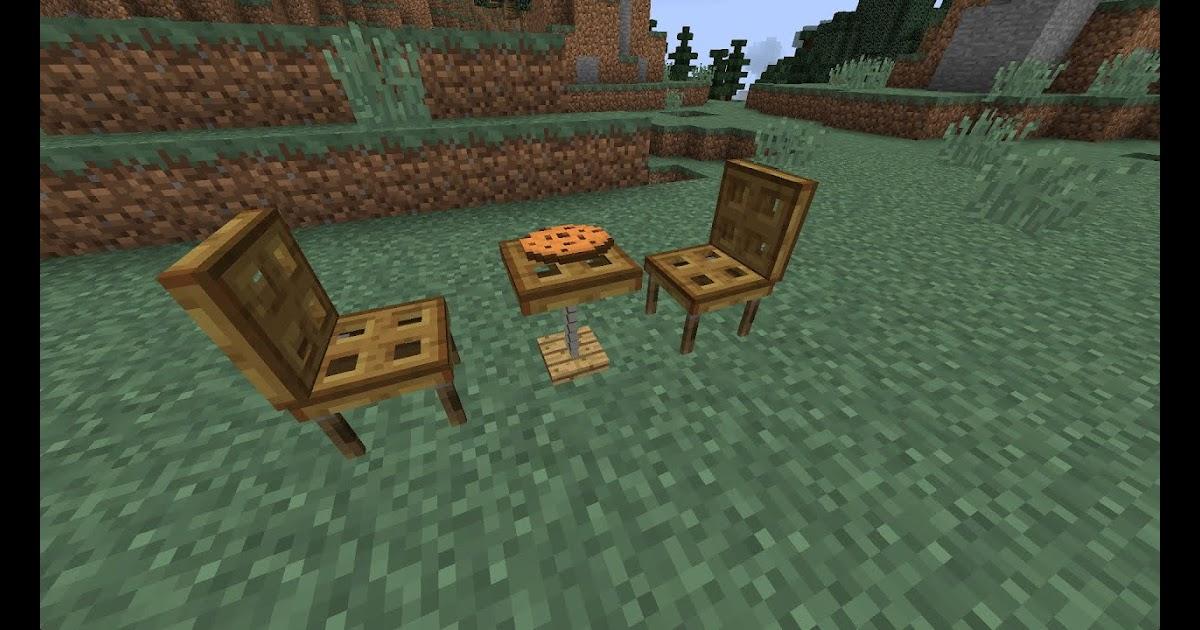 sofa in minecraft bauen. Black Bedroom Furniture Sets. Home Design Ideas