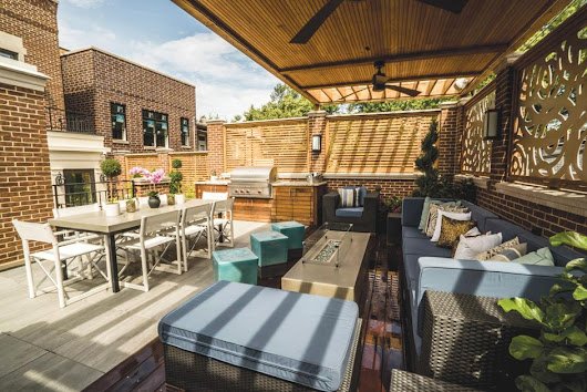 Sky's the limit: Rooftop decks provide venue for outdoor entertaining