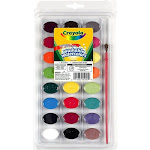 Crayola Washable Watercolors - 24 colors