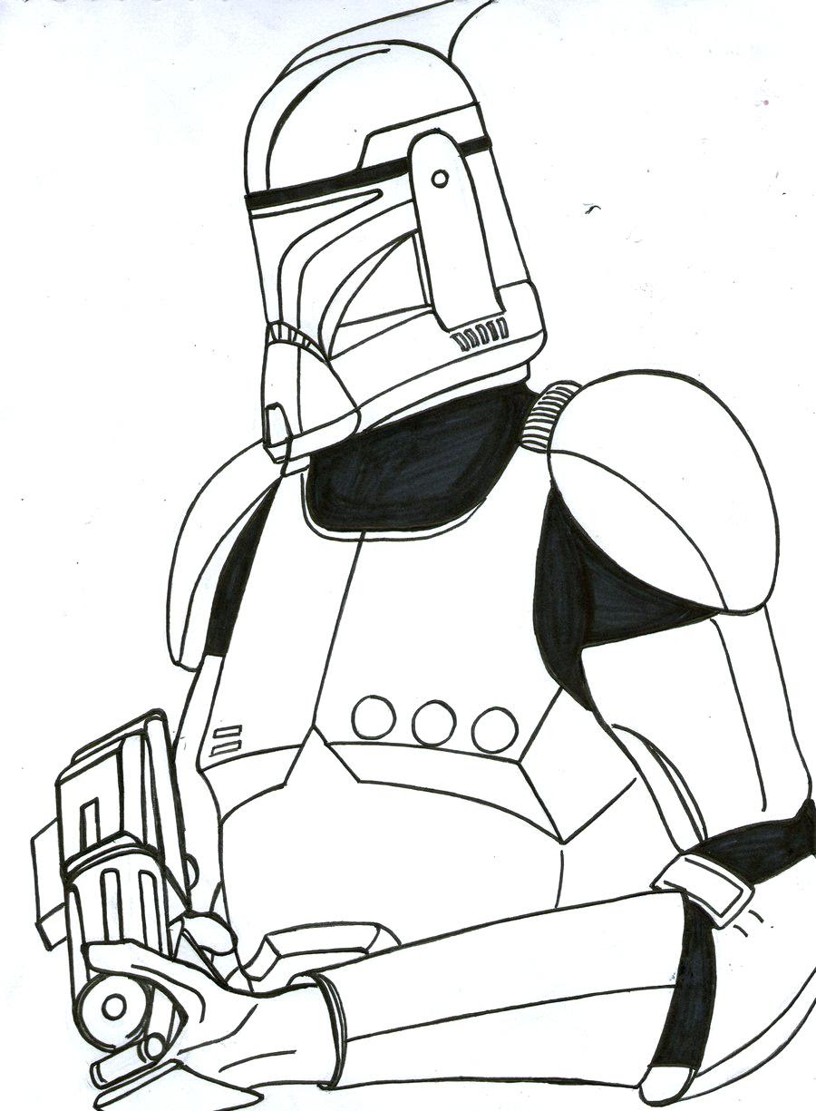 Star Wars Clone Wars Coloring Pages Printable Coloring And Drawing