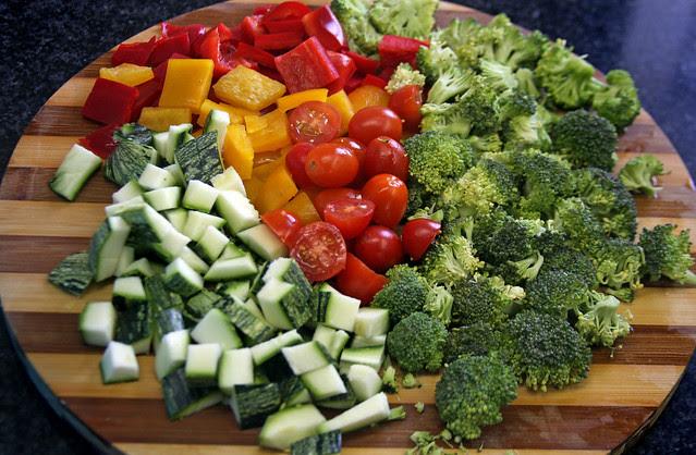 Pappardelle en Salsa Multicolor   (34)