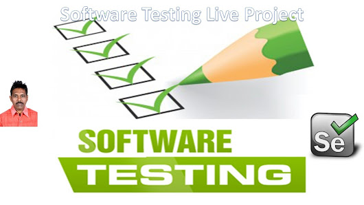 Software Testing Live Project - Software Testing