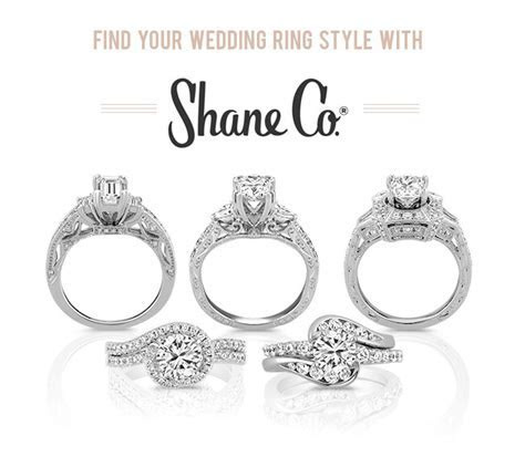 Find Your Wedding Ring Style With Shane Co.