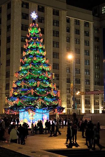New Year's tree