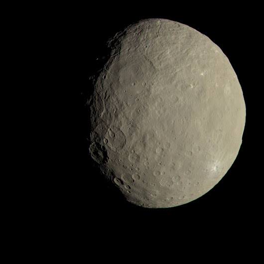 Confirmed: Ceres Has a Transient Atmosphere - Universe Today