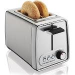 Hamilton Beach Modern Chrome 2 Slice Toaster