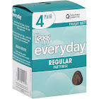 L'eggs Everyday Regular Pantyhose, Suntan - 4 pair