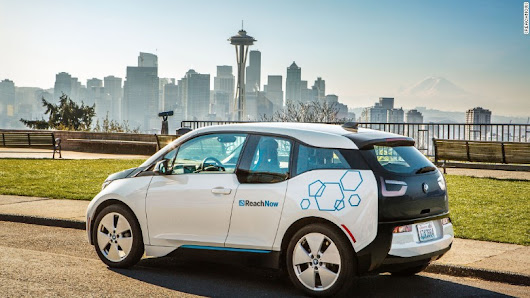 In Seattle, BMW plans for a future where nobody buys cars - May. 24, 2017