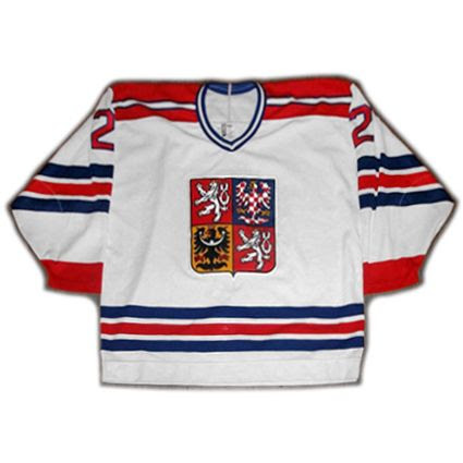 Czech Republic 1996 WC jersey photo Czech Republic 1996 WC F jersey.jpg