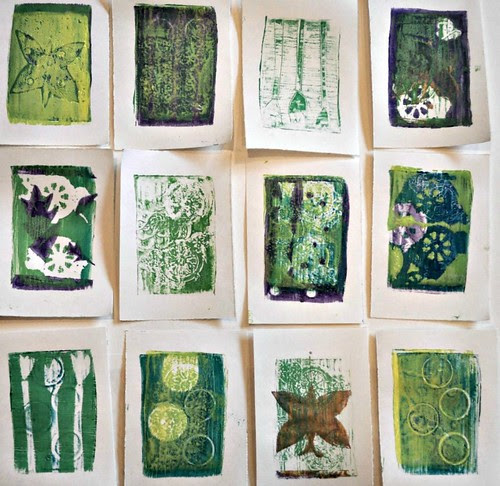 gelatin-prints